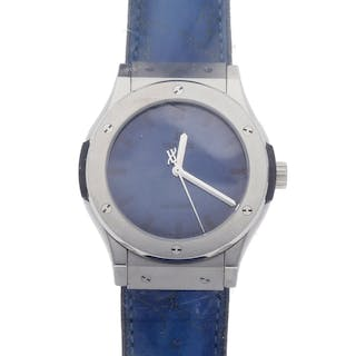 Hublot Classic Fushion Berluti Blue Limited Edition 511.NX.050B.VR.BER16