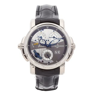 Ulysse Nardin Sonata Catherdral Dual Time 670-88/212