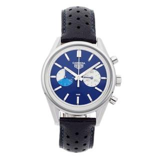 "Tag Heuer X The Rake X Revolution Carrera Chronograph ""Blue Dreamer"""