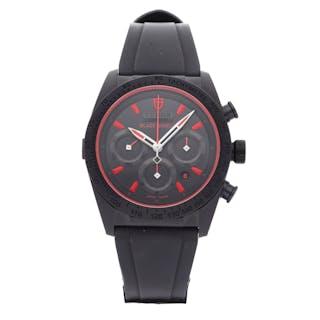 Tudor Fastrider Black Shield Chronograph 42000CR