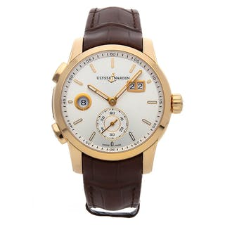 Ulysse Nardin Dual Time Manufacture 3346-126/91