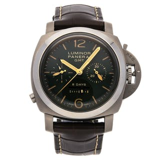 Panerai Luminor 1950 Chrono Monopulsante 8-Days GMT Titanio PAM 737