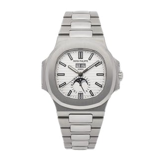 Patek Philippe Complications Nautilus Annual Calendar Moon Phases 5726/1A-010