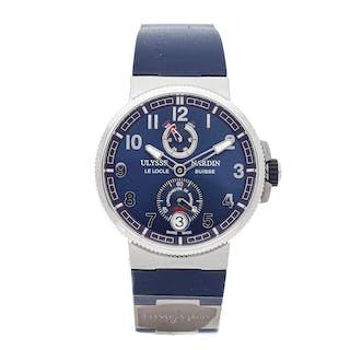 Ulysse Nardin Marine Chronometer Manufacture 1183-126