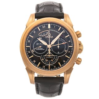 Omega De Ville Chronoscope Co-Axial GMT Chronograph 422.53.44.52.13.001