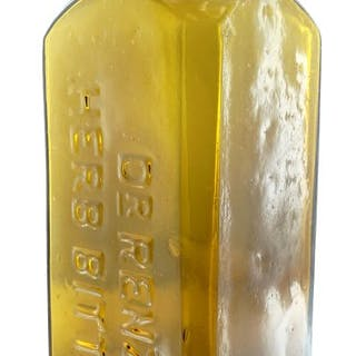 DR RENZ'S HERB BITTERS 1868-81 Applied top