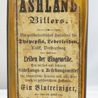 ASHLAND BITTERS with label