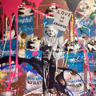 Einstein - Mr. Brainwash