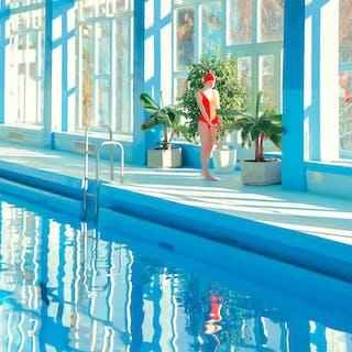 Snow pool, Garden - Mária Švarbová