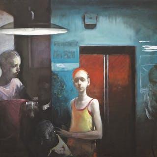 Aufzug - Andreas Wachter