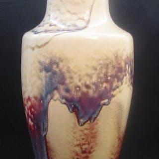 Ruskin High Fired Vase