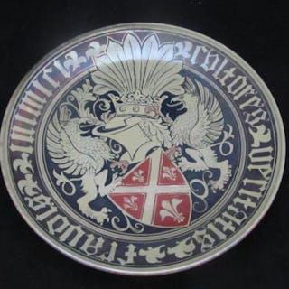 Pilkingtons Lustre Plaque