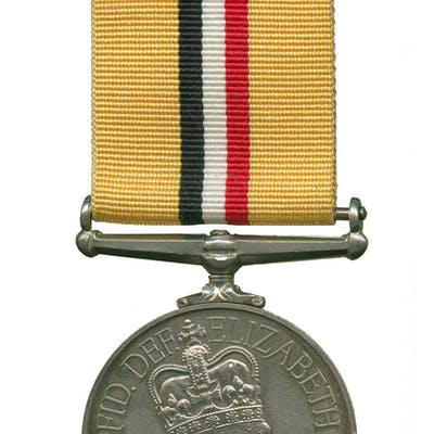 Iraq Medal to Lcpl Reeves, Intelligence Corps