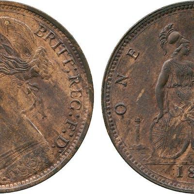 Victoria, Penny, 1874