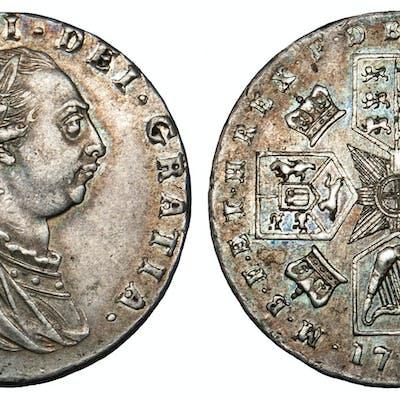 George III, Proof Sixpence, 1787