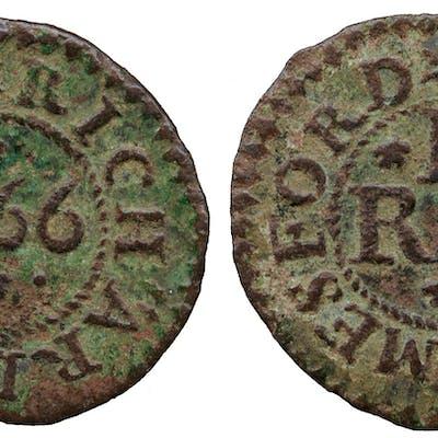 Essex, Richard James, Farthing Token, 1666