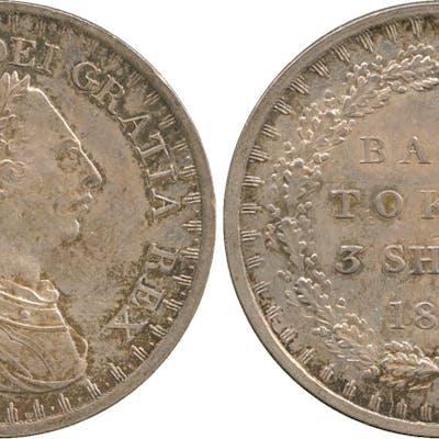 George III, Bank token Three Shillings, 1811