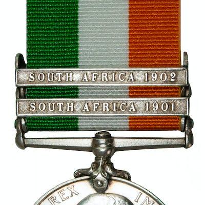 KSA Medal 1901-02 to Pte. E. Pearce, Grenadier Guards