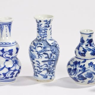 Miniature Chinese porcelain