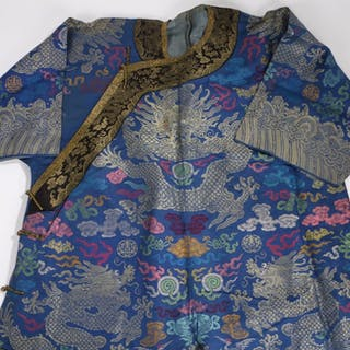 Chinese silk coat