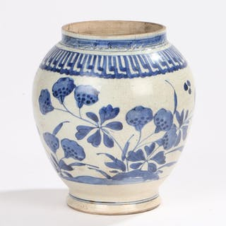 Chinese Qing Dynasty jar