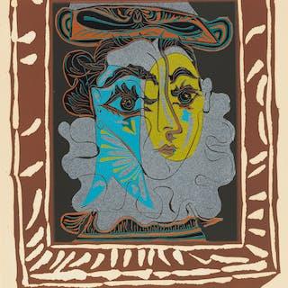 PABLO PICASSO (1881-1973) La femme au chapeau – Current sales ...