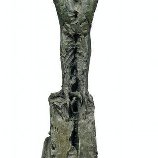 Dylan Lewis (b. 1964) Trans-figure XXI maquette