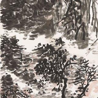 HUANG BINHONG (1864-1955) Autumn Landscape