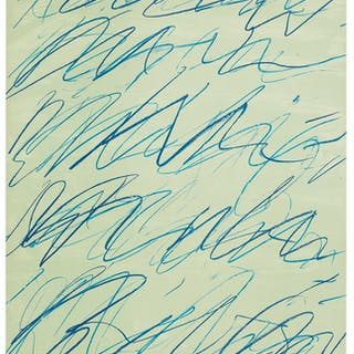 CY TWOMBLY (1928-2011) Roman Notes III, from Roman Not...