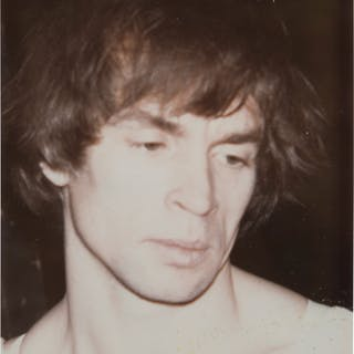 ANDY WARHOL (1928–1987) Rudolf Nureyev, early 1970s