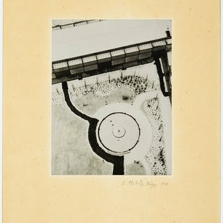 LÁSZLÓ MOHOLY-NAGY (1895–1946) From the Radio Tower, Berlin, 1...