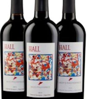 Hall, Jack's Masterpiece, Cabernet Sauvignon 2013, 2014 & 2015