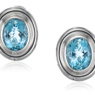 f366b7567 TIFFANY & CO. PALOMA PICASSO AQUAMARINE EARRINGS – Current sales –  Barnebys.com