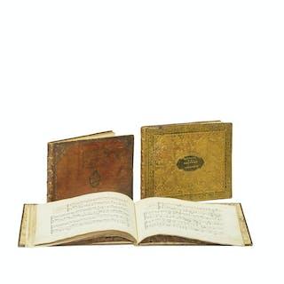 [MUSIQUE MANUSCRITE]. Ensemble de trois manuscrits musicaux.