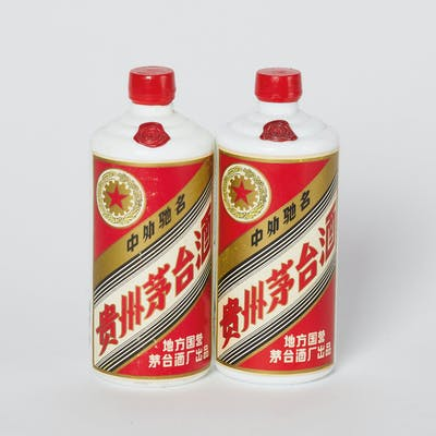 WuXing Local State-Owned Moutai 1986 2 bottles (540ml) per lot