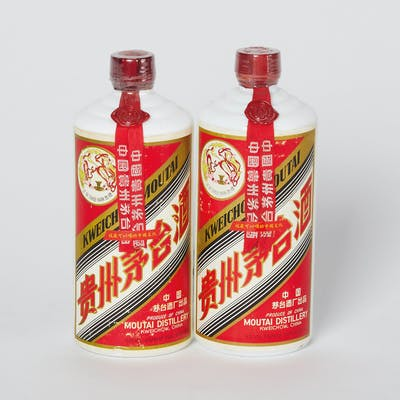 FeiTian Moutai 1970s 2 bottles (540ml) per lot