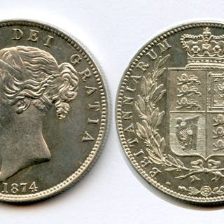 1874 halfcrown