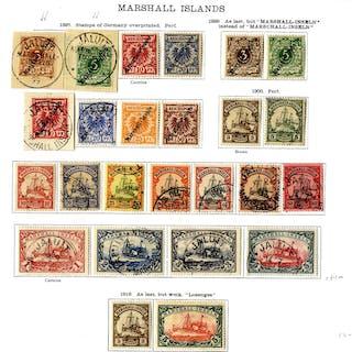 GERMAN COLONIES MARSHALL IS