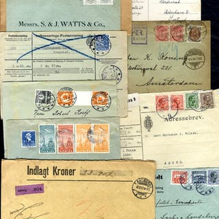 1894-1936 covers selection incl