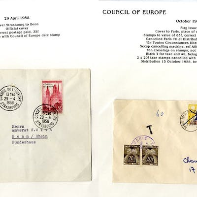 1946-96 collection of commemorative Council of Europe...