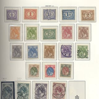 1852-1991 A substantial M & U collection housed in a...