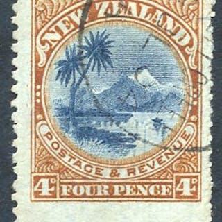 1902-07 4d Taupo