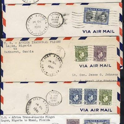 1941 PAA FAM 22 flight to Accra