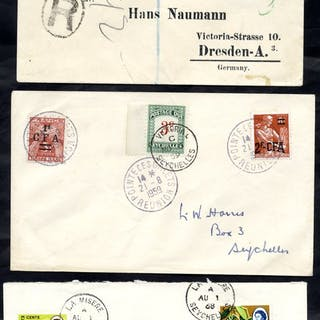 1907 registered cover to Dresden franked QV 2c