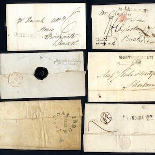 DORSET & WILTSHIRE c1782-1920 covers incl