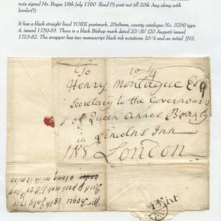 YORKSHIRE 1760-65 group of letters mainly to Yorkshire addresses
