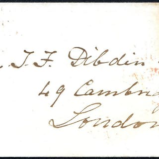 1841 local London usage of a wrapper addressed to Cambridge St