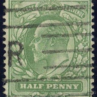 1904 ½d Frame Break SGM2(2)i