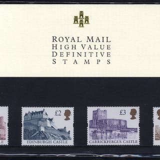 1997 High Value Definitive Presentation Pack No. 40