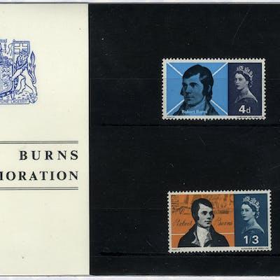 1966 Robert Burns Presentation Pack